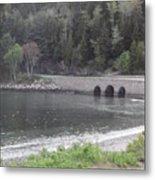 Acadia Bridge Metal Print