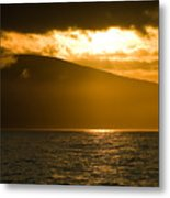 Acadia National Park Sunset Metal Print
