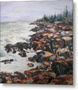 Acadian Afternoon Metal Print