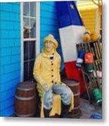 Acadian Fisherman, Prince Edward Island, Canada Metal Print