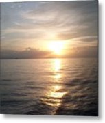 Acapulco Sunset Metal Print