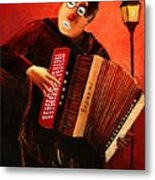 Accordeon Metal Print