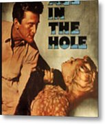 Ace In The Hole Film Noir Metal Print