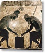 Achilles & Ajax, C540 B.c Metal Print