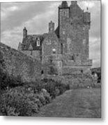 Ackergill Tower 1173 Bw  Metal Print