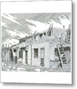Acoma Sky City Metal Print