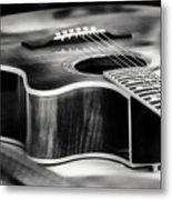 Acoustic Noir Metal Print