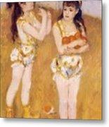 Acrobats At The Cirque Fernando Francisca And Angelina Wartenberg 1879 Metal Print
