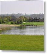 Across Carsington Water To Stones Island Metal Print