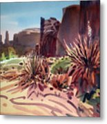 Across Monument Valley Metal Print