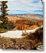 Across The Canyon Metal Print
