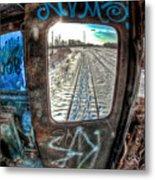 Across The Tracks Metal Print