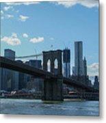 Across To Manhattan New York New York Metal Print