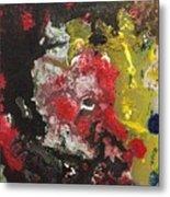 Acrylic Abstract 15-v.vvv Metal Print