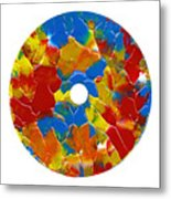 Acrylic  On  Cd  One Metal Print
