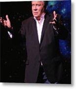 Actor And Comedian William Shatner Metal Print