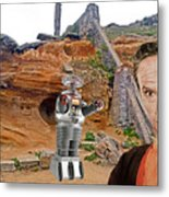 Actor Jonathan Harris As Dr Smith From Lost In Space II Metal Print