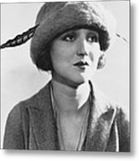 Actress Agnes Ayres Metal Print