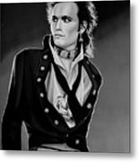 Adam Ant Painting Metal Print