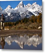 Adam Jewell At Schwabacher Landing Metal Print