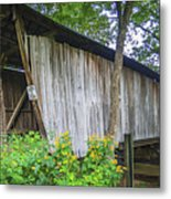 Adams/san Toy Covered Bridge  Metal Print