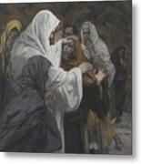 Address To Saint Philip Metal Print by Tissot