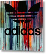 Adidas Plakative - Typografie Metal Print