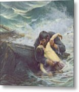 Adieu Metal Print by Alfred Guillou