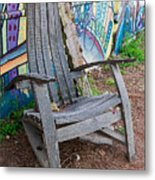 Adirondack Chair ? Metal Print