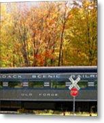 Adirondack Scenic Railroad Metal Print