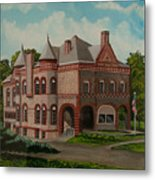 Administration Building Metal Print