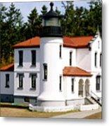 Admirality Head Lighthouse Metal Print