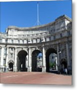 Admiralty Arch Metal Print