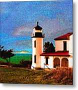 Admiralty Head Lighthouse Dp15 Metal Print