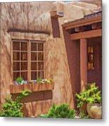 Adobe Gallery, Santa Fe Metal Print