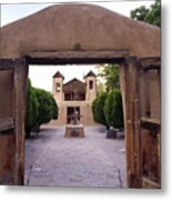 Adobe Gates Metal Print