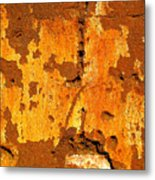 Adobe Wall 1 By Darian Day Metal Print
