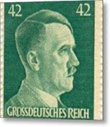 Adolf Hitler 42 Pfennig Stamp Classic Vintage Retro Metal Print