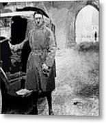 Adolf Hitler Shortly After His Release From Prison 1924-2012 Metal Print