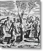 Adonis Being Born From Myrrha Metal Print