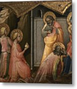Adoration Of The Kings Metal Print