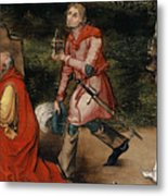 Adoration Of The Magi By Durer Metal Print