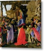 Adoration Of The Magi Metal Print