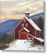 Adorned With Icicles Metal Print