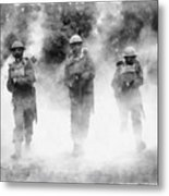 Advance By John Springfield Metal Print