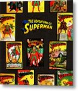 Adventures Of Superman Metal Print