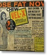 Advertisement Metal Print
