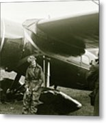 Amelia Earhardt, Ireland, Solo Atlantic Crossing, May 21st, 1932 Metal Print