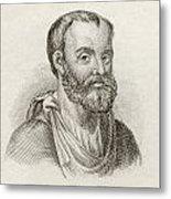 Aelius Galenus Or Claudius Galenus Metal Print