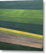 Aerial Abstract Metal Print